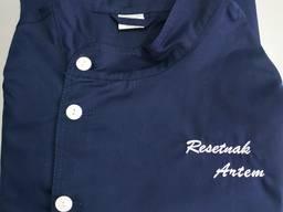 Индивидуальная вышивка на изделиях