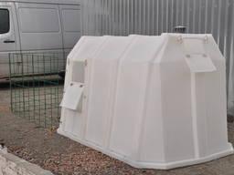 Индивидуальные домики для телят компании Мпласт