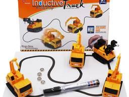 Индуктивная машинка Inductive truck. игрушечная машинка