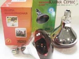 Инфракрасная лампа Lux Light IR R125 150 Вт, Красная