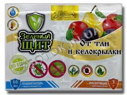 Инсектицид «Зеленый щит» от тли и белокрылки прилипатель, оригинал
