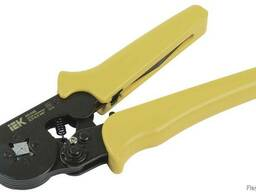 Инструмент клещи обжимные для кабельных наконечников ассорти