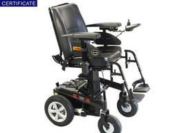 Инвалидная электроколяска с регулировкой высоты сиденья. ..