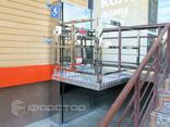 Инвалидный вертикальный подъемник с гидравлическим приводом - фото 2