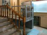 Инвалидный вертикальный подъемник с гидравлическим приводом - фото 3