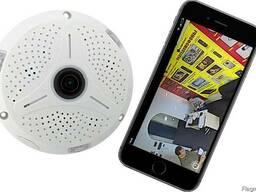 IP видеокамеры с углом обзора 360°