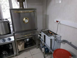 Искрогаситель для воздуховодов гидравлический, охлаждающий