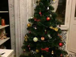 Искусственная елка Принцесса 2,0 м зеленая с белыми...