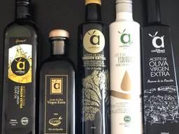 """Испанское Оливковое масло """"Extra Virgin"""" 0, 25—0, 5 и 5 литров"""