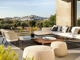 Итальянская уличная мебель: садовые столы, стулья, диваны, к