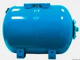Горизонтальный гидроаккумулятор vao 50 л, Aquasystem