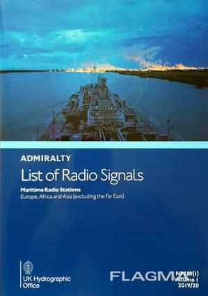 Морское издание List of Radio Signals NP281(1)