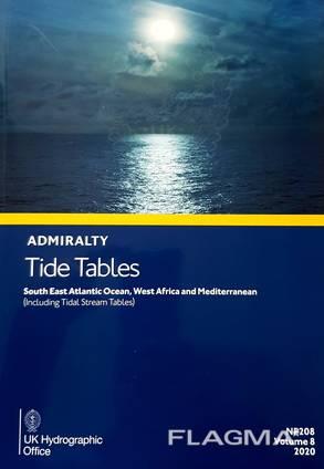 Судовая литература Tide Tables NP208