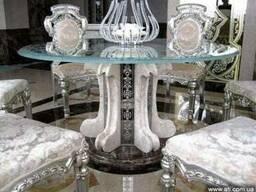 Изделия из стекла и оникса в Киеве. Дизайн интерьера.