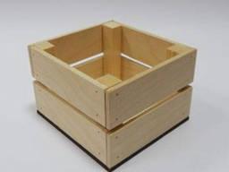 Изготовим фанерные или деревянные ящики под ваш размер