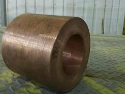Втулка мідна (марка міді М2) -лиття заготовок (круг, плита). Виготовлення в Києві