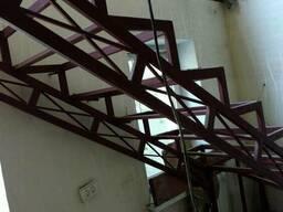 Изготовим металлическую лестницу под обшивку
