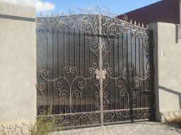 Ворота металлические, заборы, ограждения