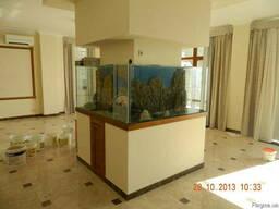 Изготовление аквариумов любой формы и размеров