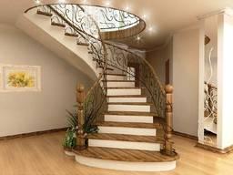 Изготовление деревянных лестниц г. Одесса