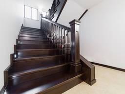Изготовление деревянных лестниц из массива. Донецк-Макеевк