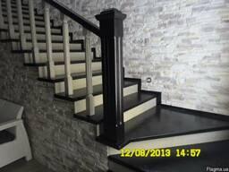 Изготовление деревянных лестниц из массива дерева(дуб, ясень)