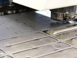 Изготовление держателей рамок из металлического листа