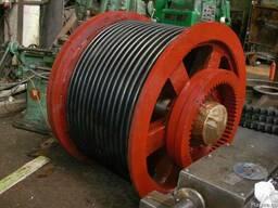 Изготовление деталей на лебедки шахтные и на прочее ПТО