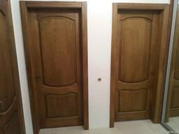 Изготовление дверей, окон из натурального дерева