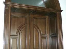 Изготовление дверей(входные, межкомнатные)из массива дерева
