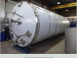 Изготовление емкостей и силосов из нержавеющей стали
