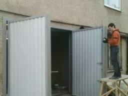 Изготовление гаражных ворот с установкой