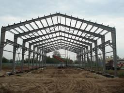 Проектирование изготовление монтаж металлоконструкций