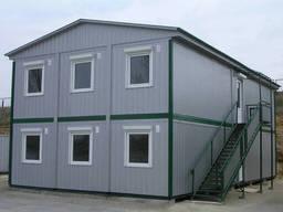 Изготовление и монтаж модульных зданий
