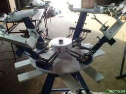 Изготовление и продажа карусельных станков для шелкографии - фото 5