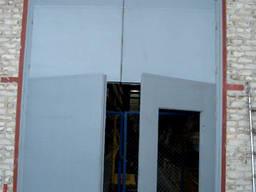 Изготовление ворот для складов, ангаров, цехов, паркингов