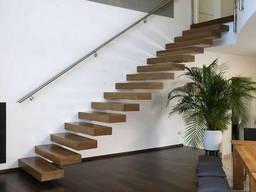 Изготовление консольных лестниц на заказ