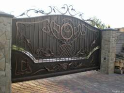 Изготовим ворота, окна, заборы ....