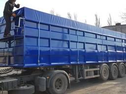 Изготовление кузовов зерновоза, переоборудование полуприцепо