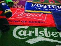 Изготовление махровых полотенец с логотипом