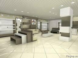 Изготовление мебели для магазина обуви Торгпроект