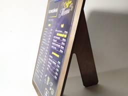 Изготовление меню, ресторанная полиграфия