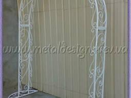 Изготовление металлических каркасов для свадебных арок.