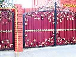 Сварка металлоконструкций, ворота, заборы, двери.