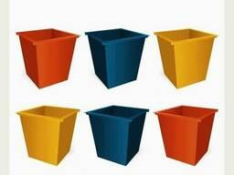 Изготовление мусорных баков и контейнеров для мусора/отходов