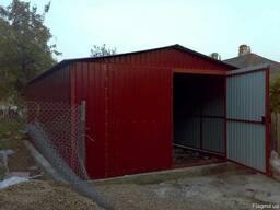 Изготовление металлических гаражей Донецк