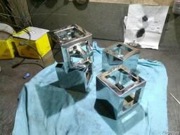 Изготовление металлоконструкций из нержавейки и алюминия.