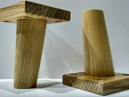 Ножка мебельная деревянная