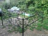 Изготовление оградок под заказ с установкой