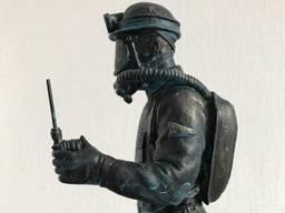 Изготовление подарочных статуэток под заказ, горноспасатель.